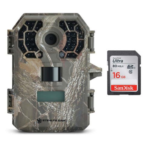 StealthCam G42 No-Glo Trail Game Camera with 16GB Memory Card