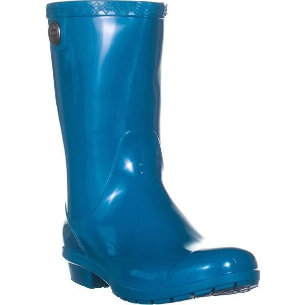 b5dc32d86f5 Shop UGG Sienna Mid-Calf Rain Boots, Enamel Blue - 7 US / 38 EU ...