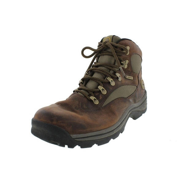 9decd293df8 Shop Timberland Mens Chocorua Trail Hiking Boots Leather Gore-Tex ...