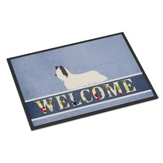 Carolines Treasures BB8278JMAT Skye Terrier Welcome Indoor or Outdoor Mat - 24 x 36 in.