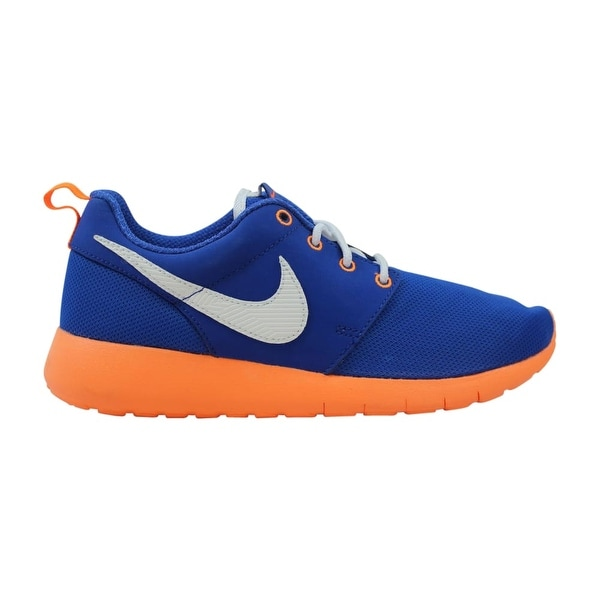 0c79c5d8d963 Shop Nike Roshe One GS Game Royal White-Total Orange-Black 599728 ...