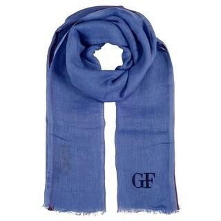 Gianfranco Ferre D8F69858/7 Blue Scarf - 17.5-72