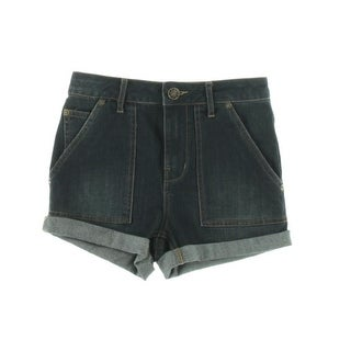 Free People Womens Casual Shorts Denim High-Waist