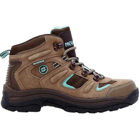 Nevados Women's Klondike Waterproof Mid Hiking Boot Shitake Brown/Dark Chestnut/Vivid Suede