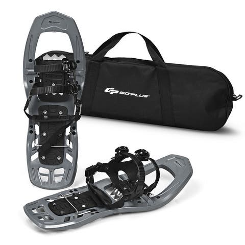 Goplus 22inch Lightweight All Terrain Snowshoes Men Women Bag Anti