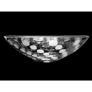 "Dale Tiffany GA80521 13"" x 3.75"" Festival Crystal Bowl - Clear - n/a"
