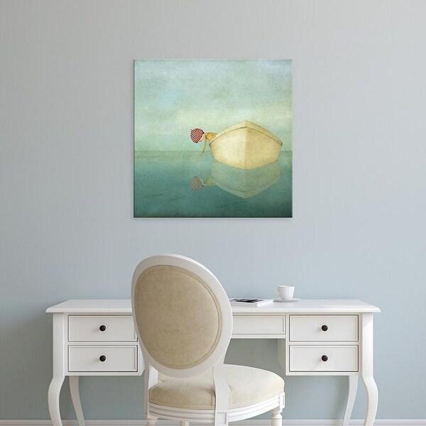 Easy Art Prints Maja Lindberg's 'On the Sea' Premium Canvas Art