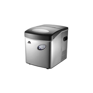 Igloo ICE115-SS Extra-Large Ice Maker, Stainless Steel Manufacturer Refurbished