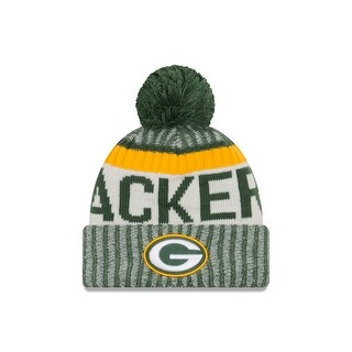 Green Bay Packers 2017 On-Field Green Sport Knit Beanie
