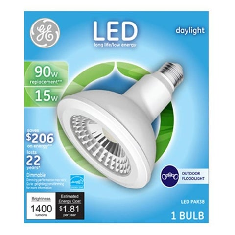 3M 210246 Ge 15 watt Par 38 LED Bulb