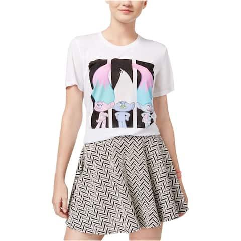 Dreamworks Womens Trolls Hi-Lo Graphic T-Shirt