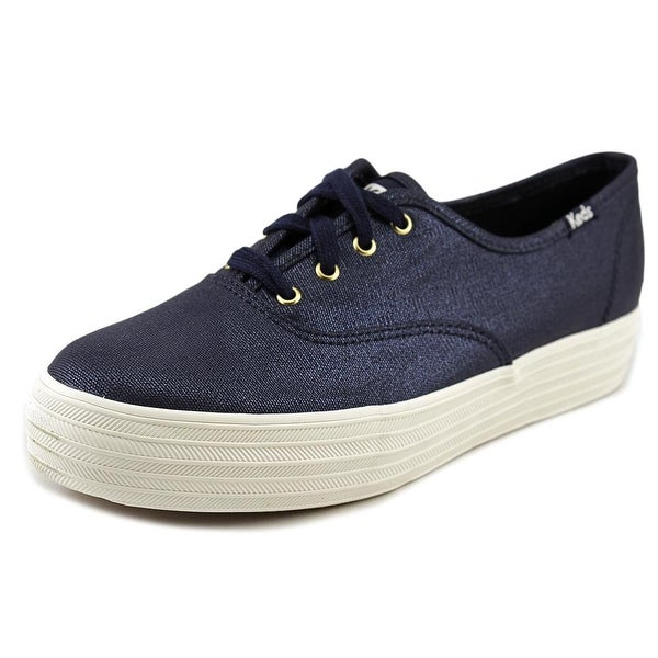 Keds Triple Met Round Toe Sneakers