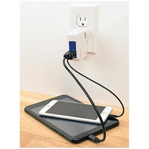 Tripp Lite U280-002-W12 DP 2-Port USB Tablet Wall Charger