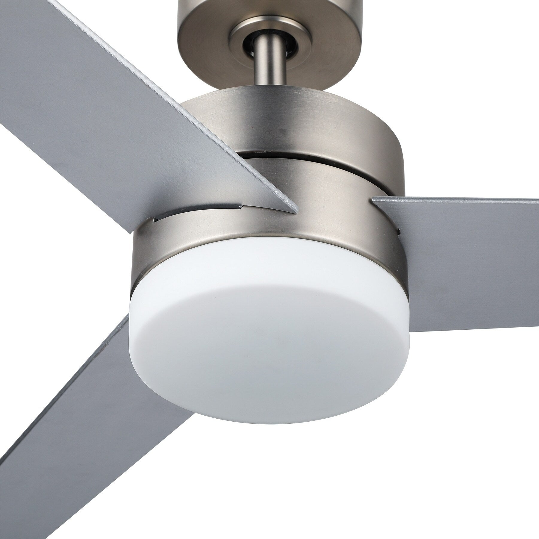 Co Z 52 3 Blade Modern Reversible Led Ceiling Fan With Light Kit And Remote Control Overstock 28358399