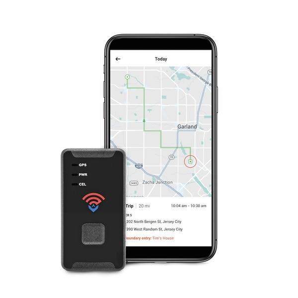 SpyTec STI GL300 2019 Model 4G LTE Mini GPS Tracker f/ Vehicles - Global  Portable Real Time GPS Tracking Device for Cars - Black