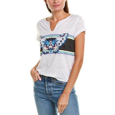 Zadig & Voltaire Tunisien Linen T-Shirt