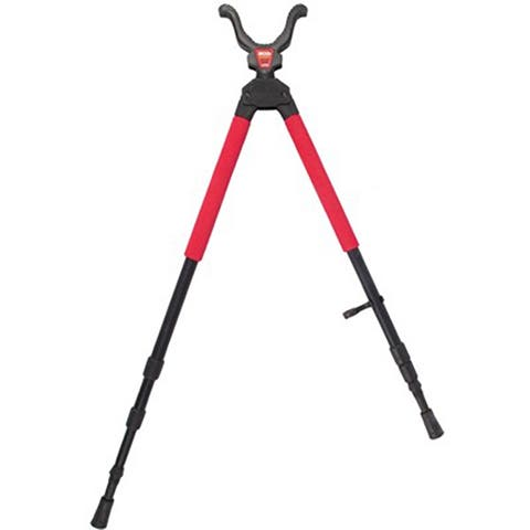 Bti 735563 bog-pod sb-2 sportsman's bipod shooting sticks 21 inch- 40 inch swivel head all terrain feet