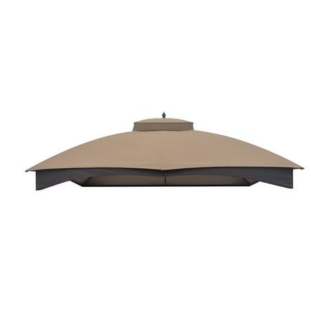 Amarantos Replacement Canopy Only Polyester 10 x 12, Brown