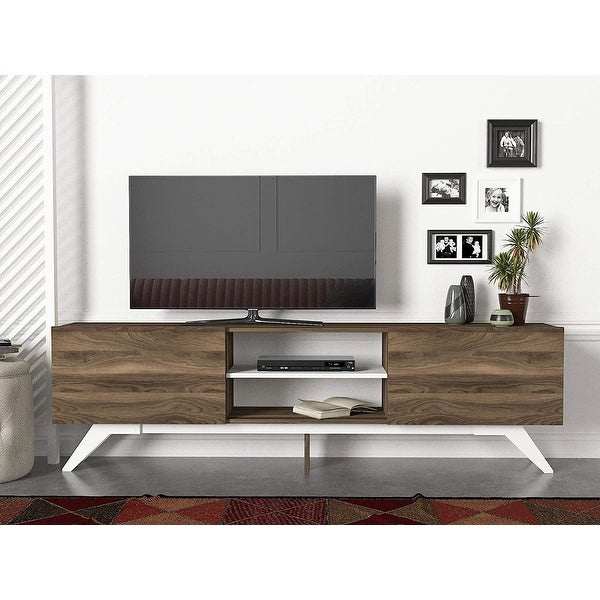 Jarvis Mid-century Modern TV Stand. Opens flyout.