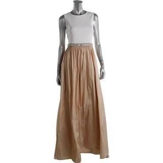 Aidan Mattox Womens Colorblock Prom Semi-Formal Dress - 14