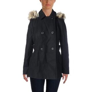 Nautica Womens Wool Lined Pea Coat - M