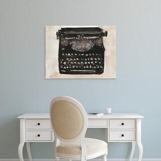 Easy Art Prints Samuel Dixon's 'Typing I' Premium Canvas Art