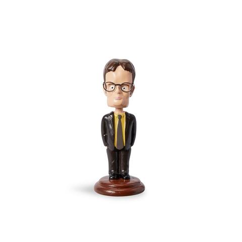 The Office Dwight Schrute 5.5-Inch Bobblehead Figure - Black