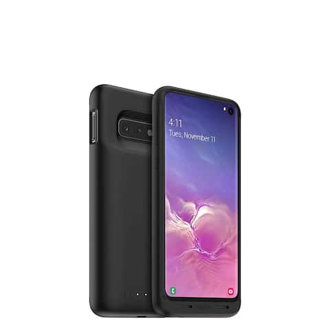 mophie Juice Pack 2,000mAh Battery Case With Qi Wireless Charging And High-Impact Protection for Samsung Galaxy S10 - Black