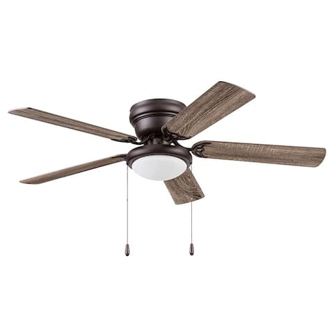 """52"""" Prominence Home West Hill Indoor Ceiling Fan, Sienna - 52"""