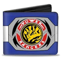 Power Rangers Blue Ranger Triceratops Morpher Bi Fold Wallet - One Size Fits most