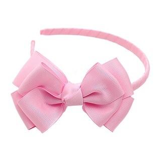 Light Pink Ribbon Bow Hairband Hair Accessory