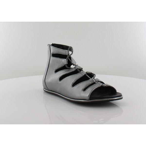 Kenneth Cole Ollie Women's Sandals & Flip Flops Anthracite - 7.5