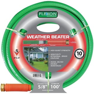 Flexon WB58100 Weather Beater Hose, 100-Feet