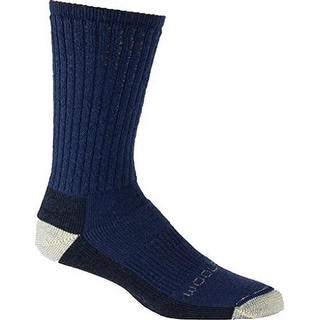 Woolrich Mens Ten Mile Hiker Crew Socks, DK.DENIM, L