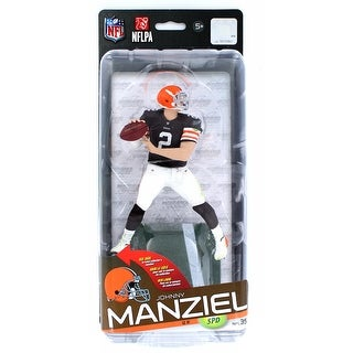 NFL Series 35 McFarlane Action Figure Cleveland Browns Johnny Manziel