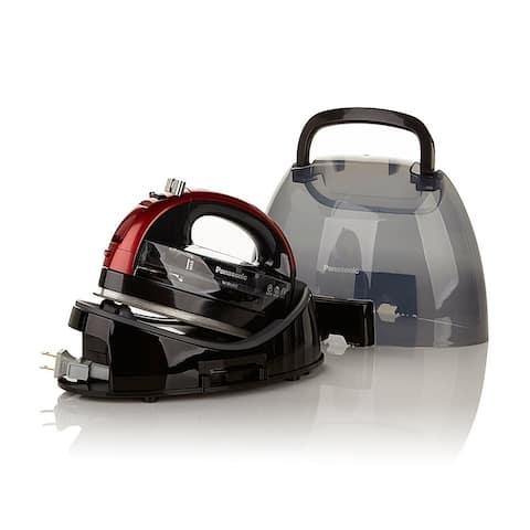 Panasonic 360º Ceramic Cordless Freestyle Iron (Metallic Red)