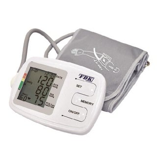 BP Monitor Arm Cuff With 90 Memory With 2 Banks - Bilingual