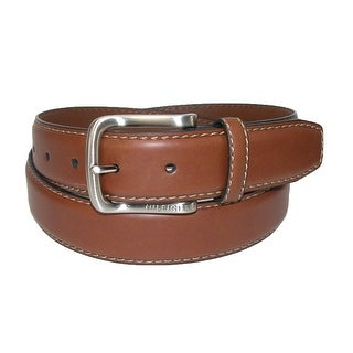 Tommy Hilfiger Men's Harness Buckle 35mm Stiched Edge Belt
