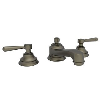 Newport Brass 1660 Astaire Double Handle Widespread Lavatory Faucet with Metal Lever Handles