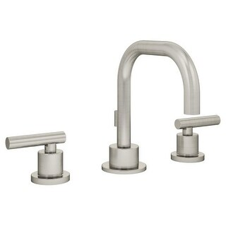 Symmons SLW-3512-1.5 Dia Widespread Bathroom Faucet - Includes Metal Drain Assembly