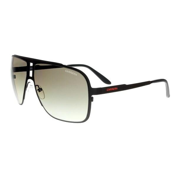 3ea39a5a97 Shop Carrera 121/S 0VXM HA Brown Charcoal Aviator Sunglasses - 62-12 ...