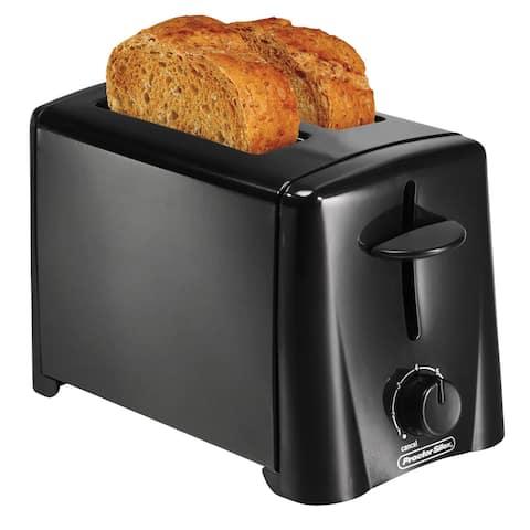 Proctor Silex 22612 Durable 2-Slice Toaster, Black