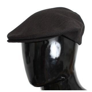 Dolce & Gabbana Brown Wool Newsboy Cap