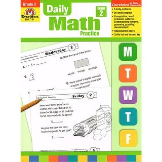 Daily Math Practice Gr 2