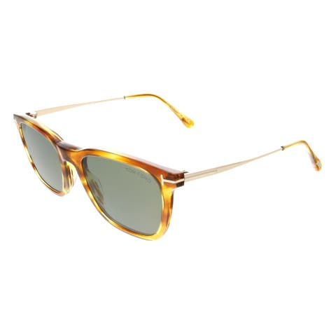 FT0625 47A Arnaud-02 Square Brown Sunglasses - 53-20-145