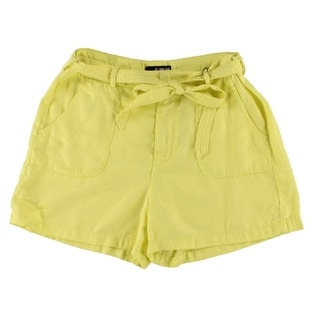 Kiind Of Womens Haro Twill Flat Front Casual Shorts