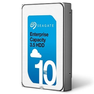 Seagate Enterprise Capacity 3.5 Hdd 10Tb (Helium) 7200Rpm Sata 6Gb/S 256 Mb Cache Internal Bare Drive (St10000nm0016)
