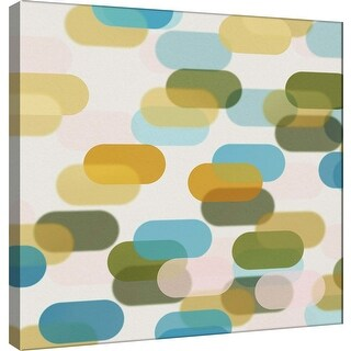 """PTM Images 9-101087  PTM Canvas Collection 12"""" x 12"""" - """"Transitions T"""" Giclee Abstract Art Print on Canvas"""