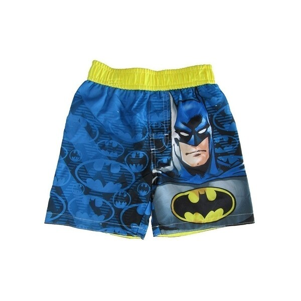 895432de13 Shop Dc Comics Little Boys Blue Batman Swim Shots - Free Shipping On Orders  Over $45 - Overstock - 21130259