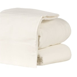 Flannel Sheet Set Heavyweight 190GSM Ultra Soft 4 Pcs White Queen Size